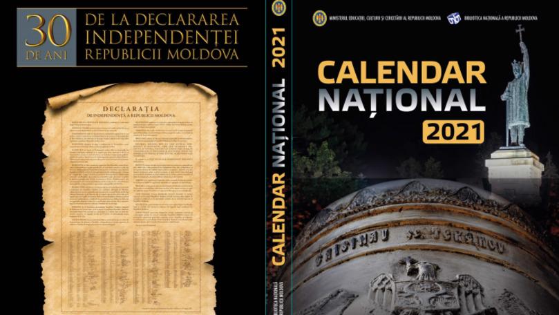 Biblioteca Națională lansează Calendarul Național-2021